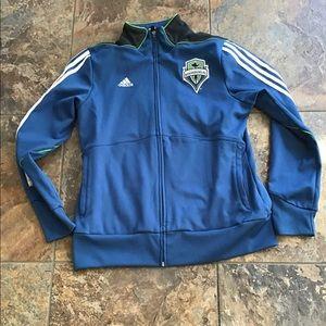 Adidas Seattle Sounders zipper jacket